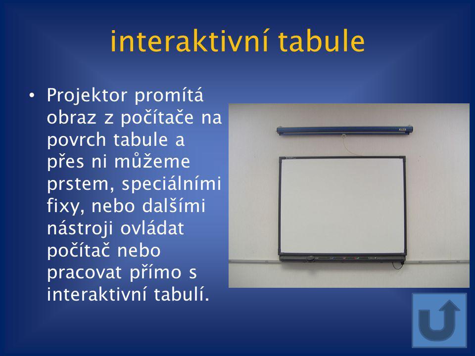 interaktivní tabule