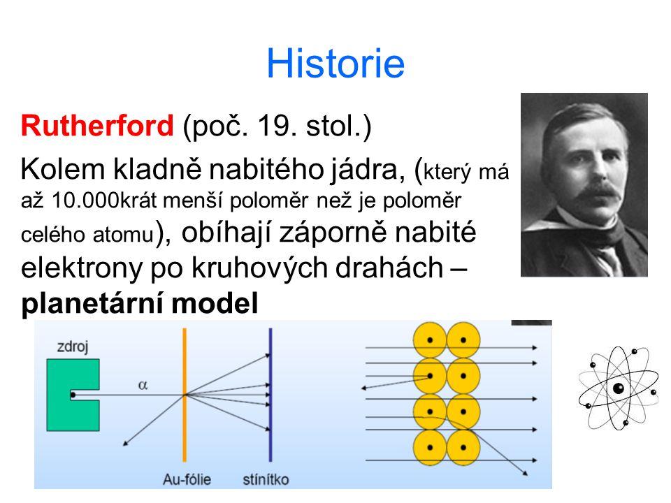 Historie Rutherford (poč. 19. stol.)