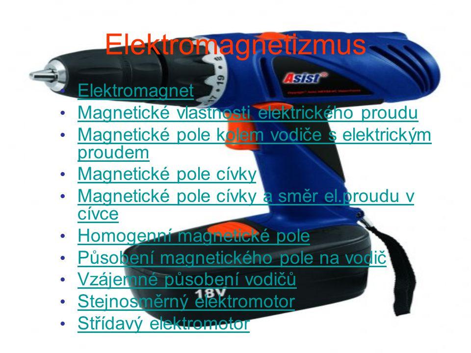 Elektromagnetizmus Elektromagnet