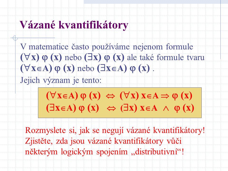 Vázané kvantifikátory