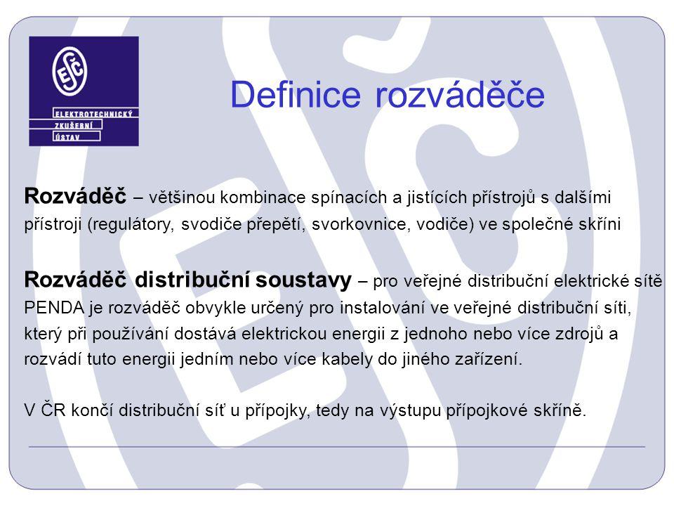 Definice rozváděče