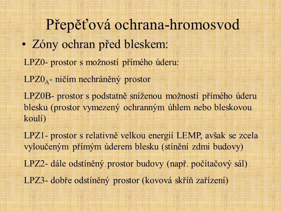 Přepěťová ochrana-hromosvod