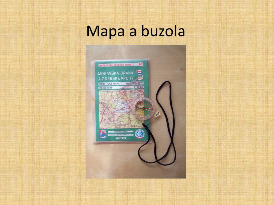 Mapa a buzola