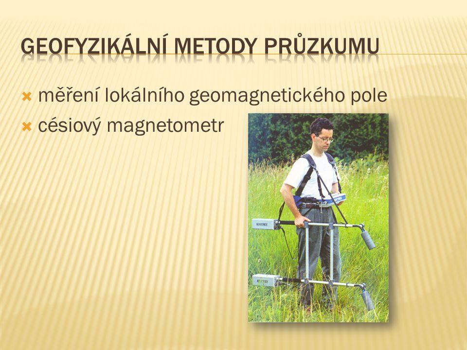 Geofyzikální metody průzkumu