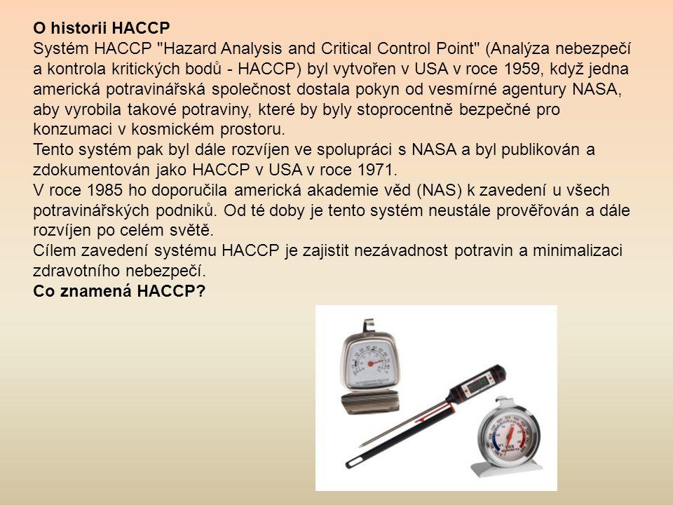 O historii HACCP