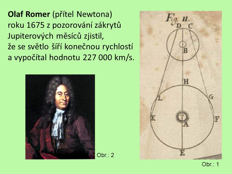 Olaf Romer (přítel Newtona)