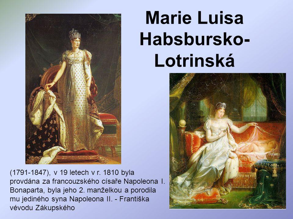 Marie Luisa Habsbursko-Lotrinská