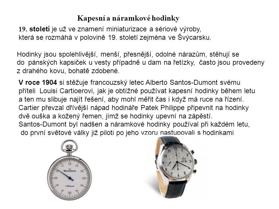 Kapesní a náramkové hodinky
