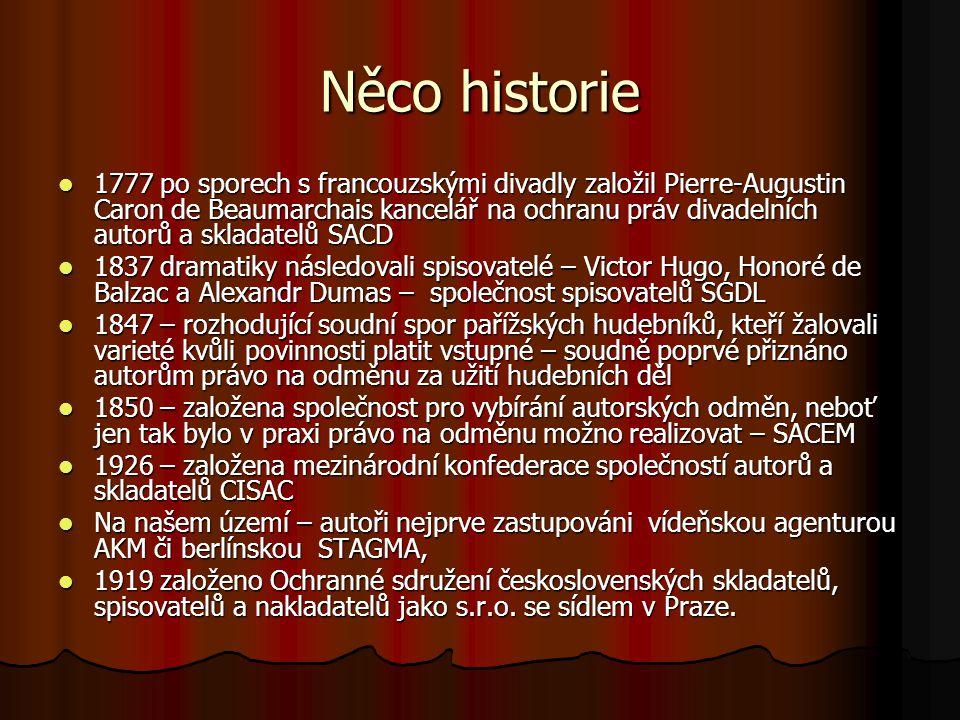 Něco historie