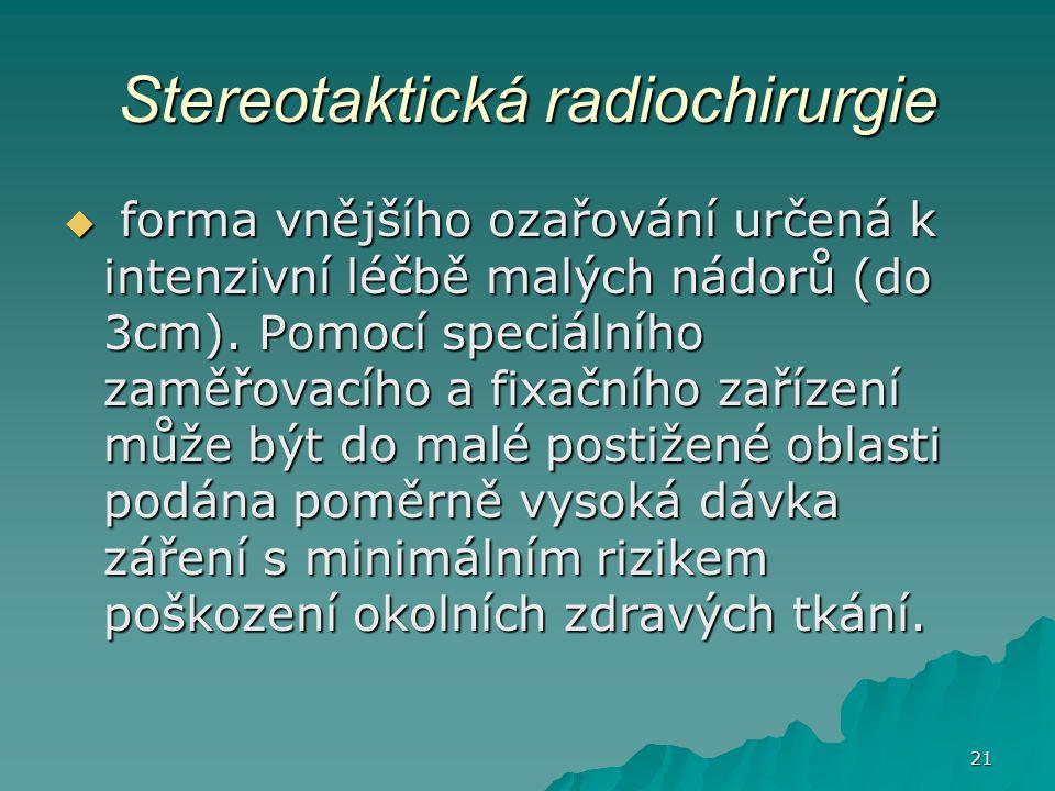 Stereotaktická radiochirurgie