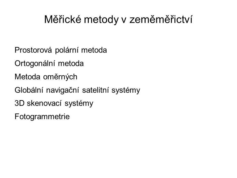 Měřické metody v zeměměřictví