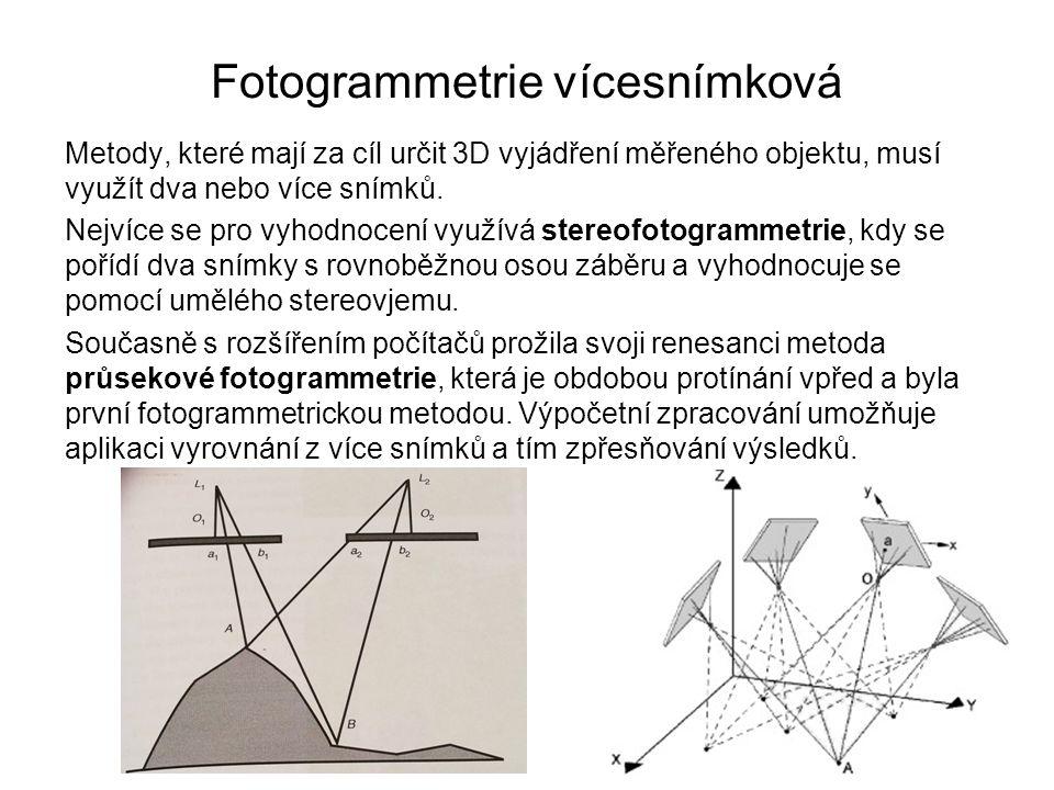 Fotogrammetrie vícesnímková
