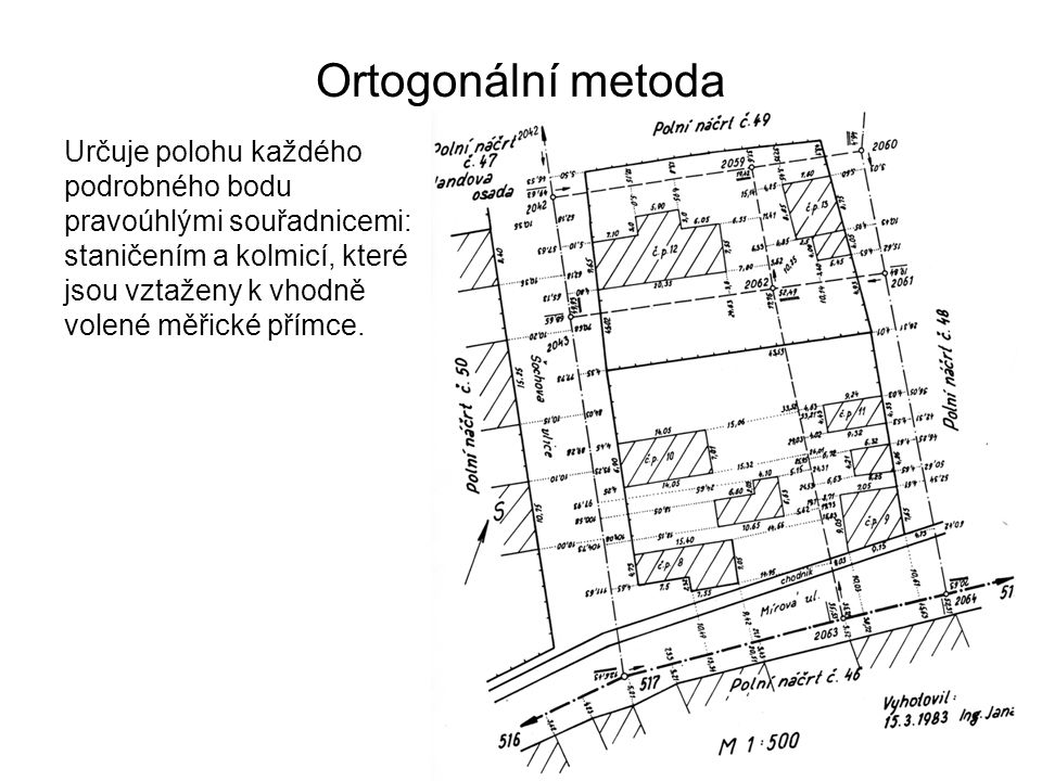 Ortogonální metoda