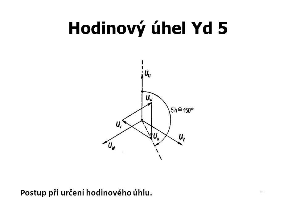 Hodinový úhel Yd 5 Postup při určení hodinového úhlu.
