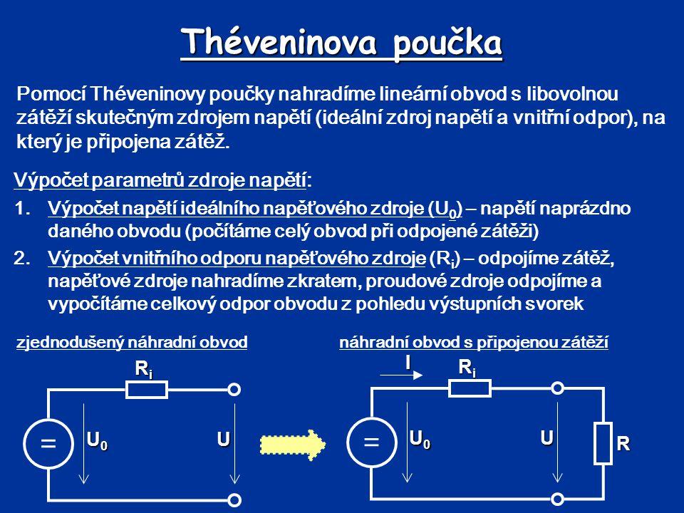 Théveninova poučka