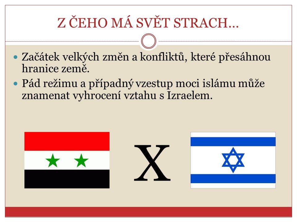 Z ČEHO MÁ SVĚT STRACH… Začátek velkých změn a konfliktů, které přesáhnou hranice země.
