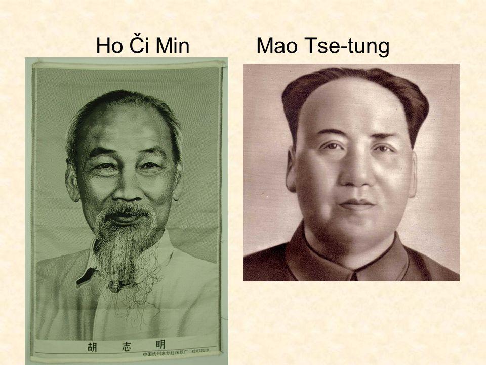 Ho Či Min Mao Tse-tung