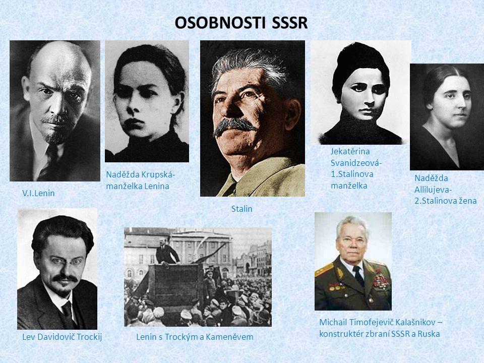 OSOBNOSTI SSSR Jekatěrina Svanidzeová-1.Stalinova manželka
