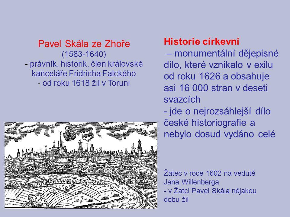 právník, historik, člen královské kanceláře Fridricha Falckého