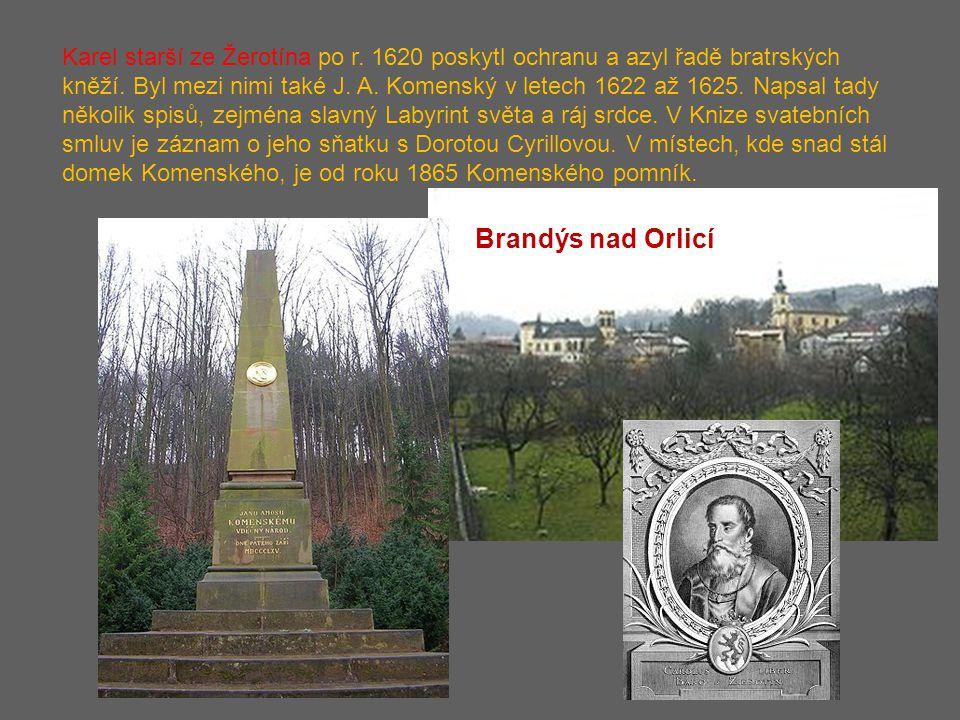 Karel starší ze Žerotína po r