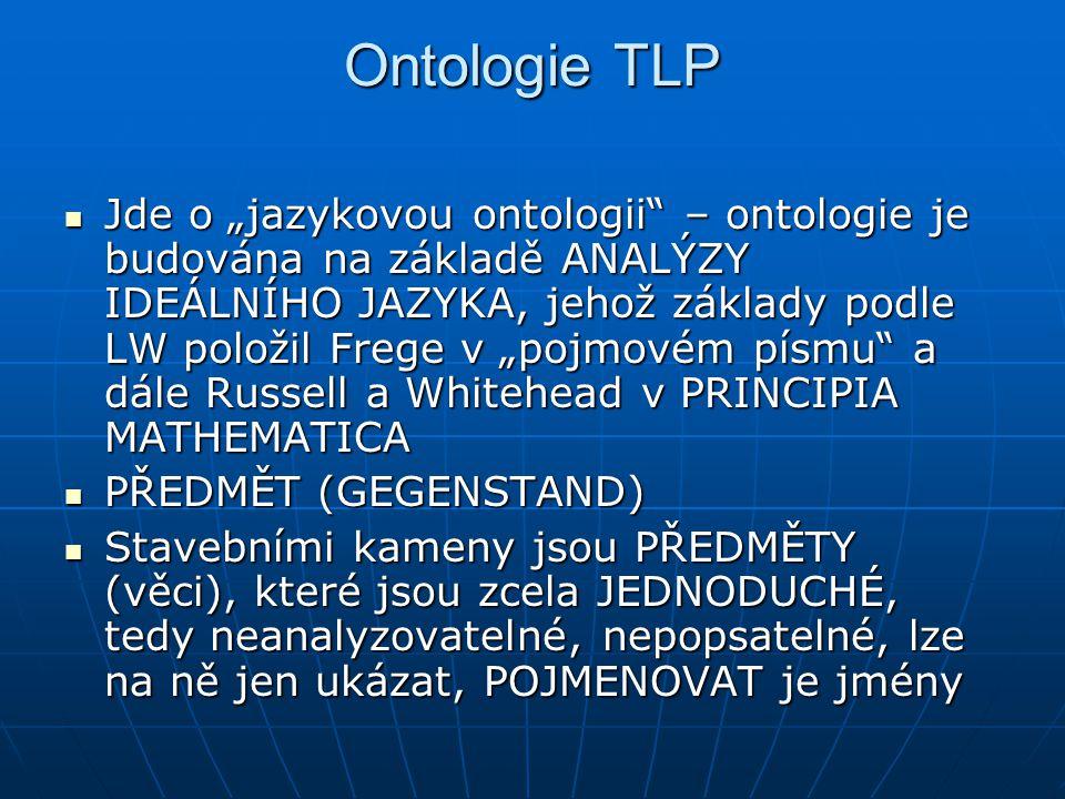 Ontologie TLP