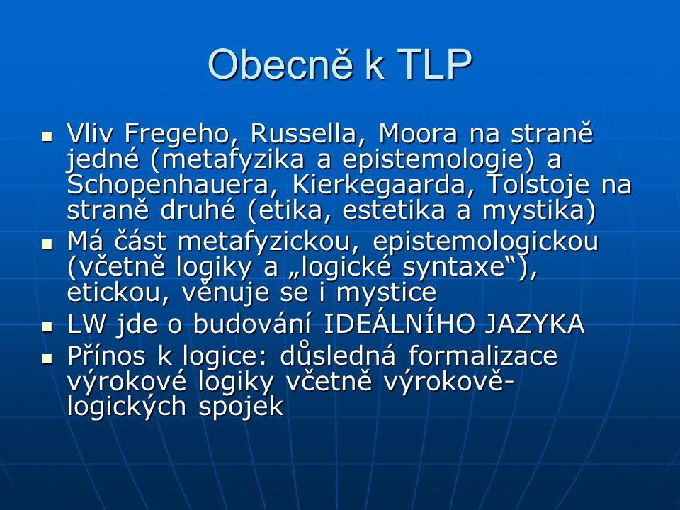 Obecně k TLP