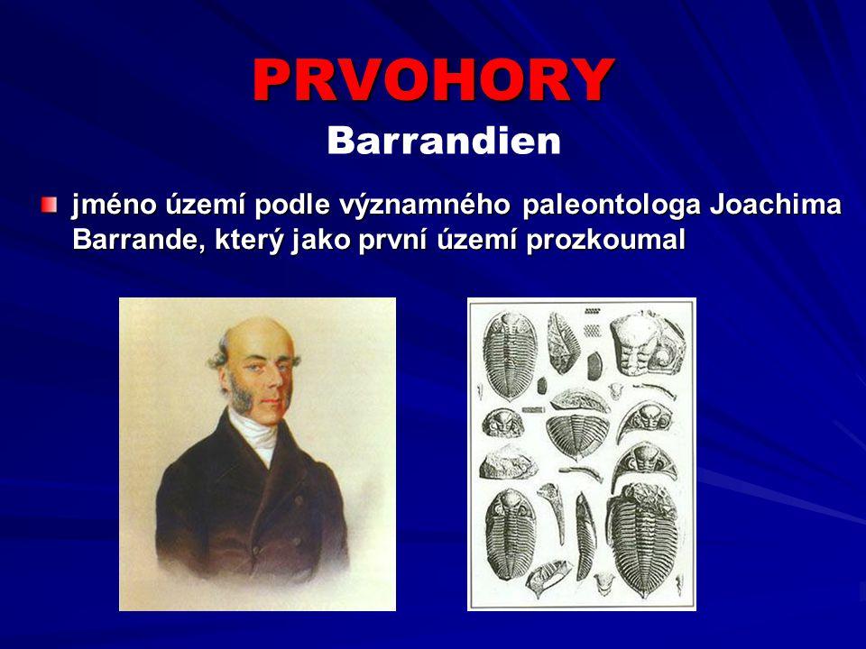 PRVOHORY Barrandien.