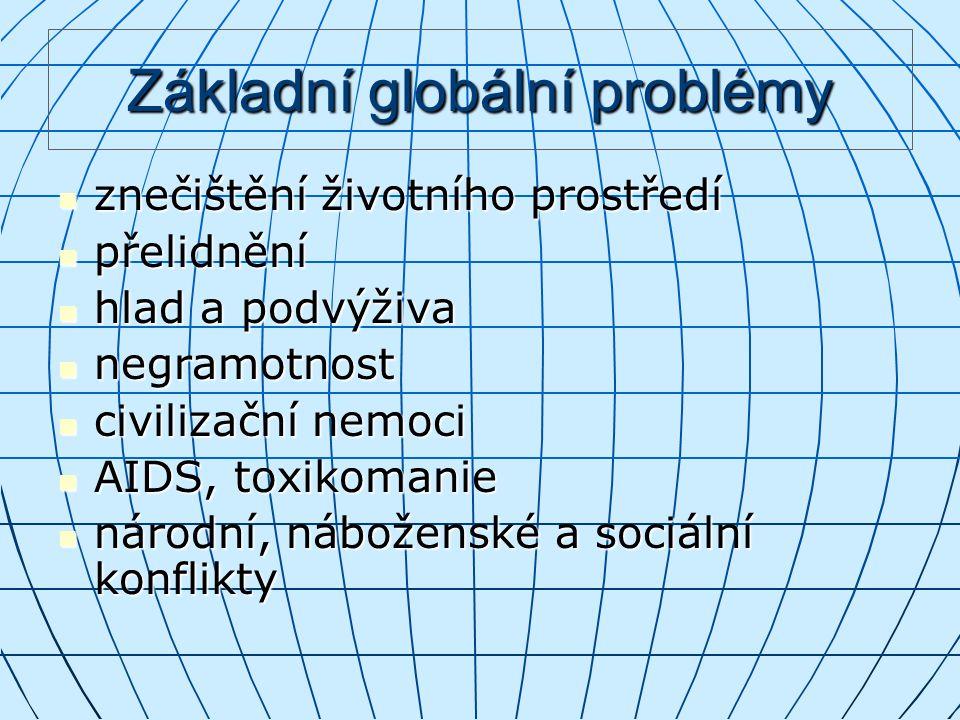 Základní globální problémy