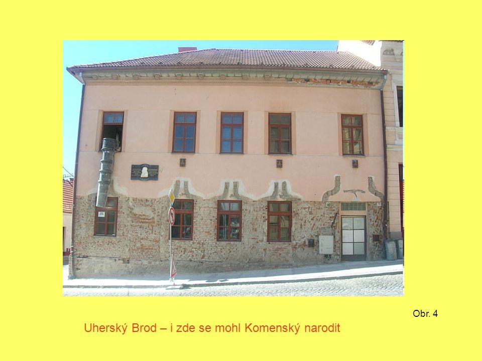 Uherský Brod – i zde se mohl Komenský narodit