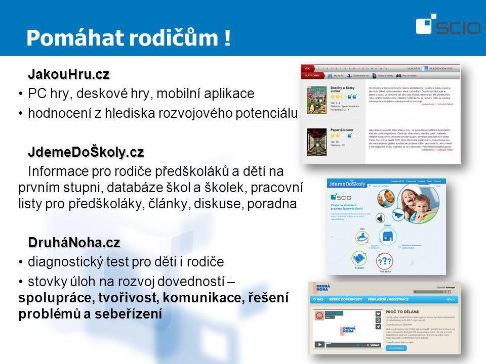 Pomáhat rodičům ! JakouHru.cz PC hry, deskové hry, mobilní aplikace