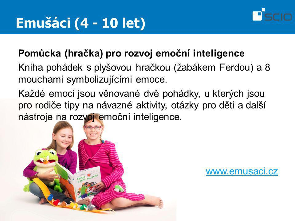 Emušáci (4 - 10 let) Pomůcka (hračka) pro rozvoj emoční inteligence
