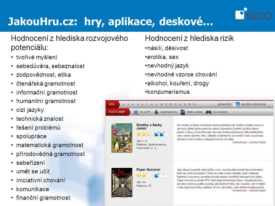 JakouHru.cz: hry, aplikace, deskové…