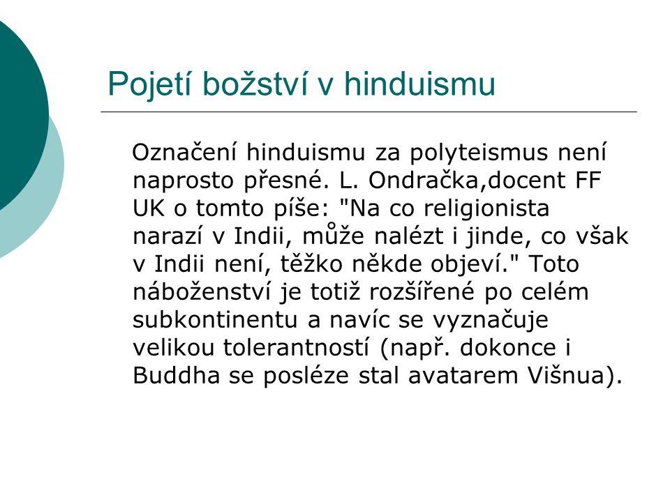 Pojetí božství v hinduismu