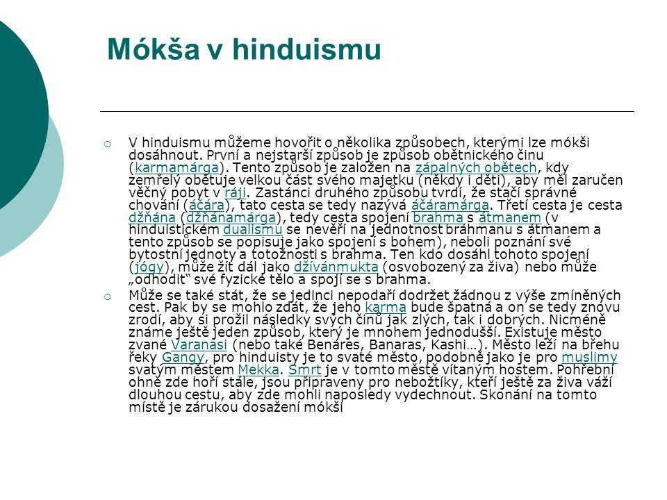 Mókša v hinduismu