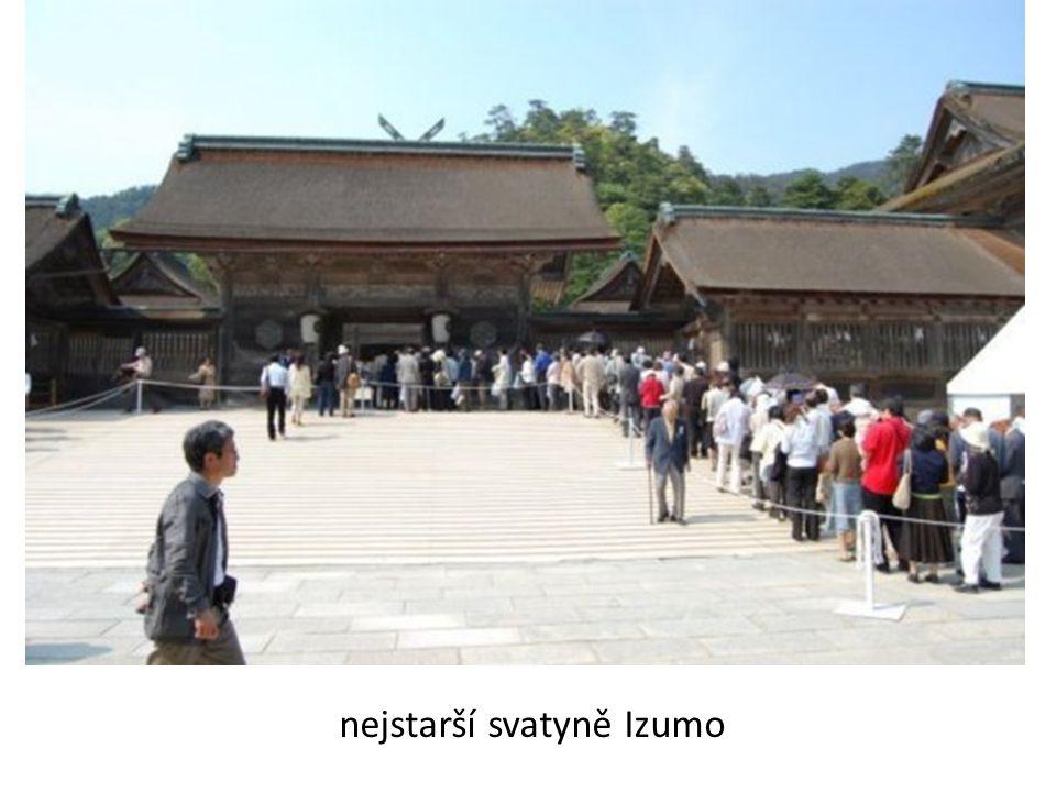 nejstarší svatyně Izumo