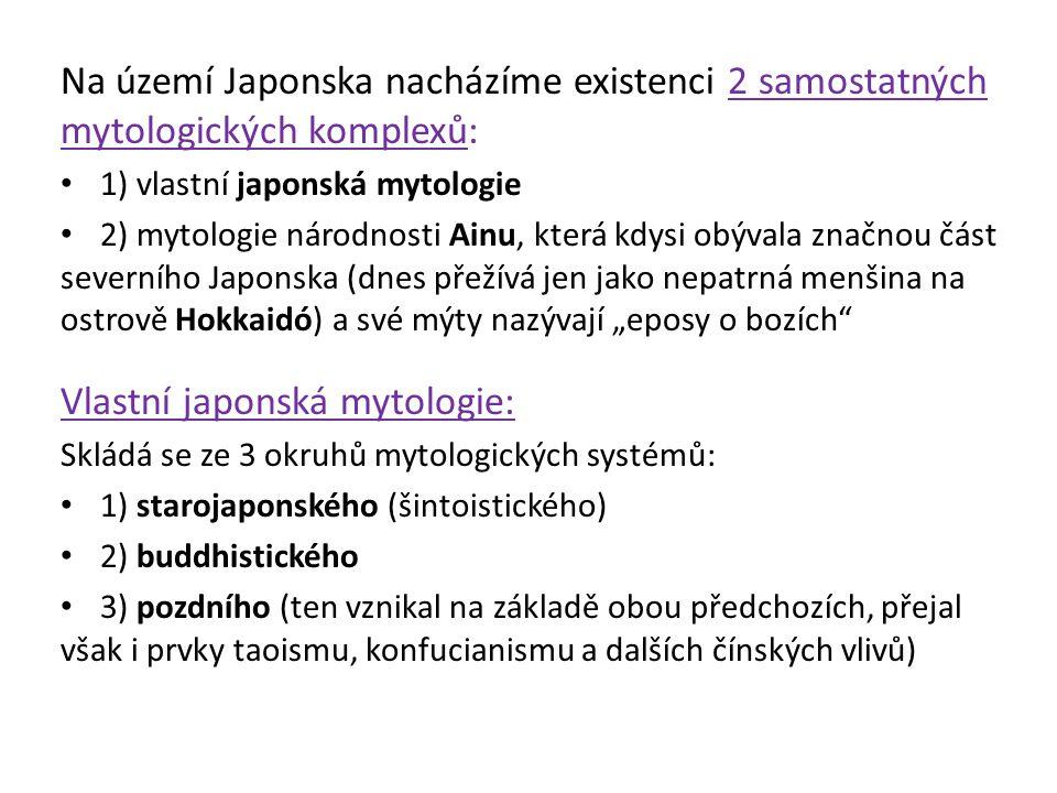 Vlastní japonská mytologie: