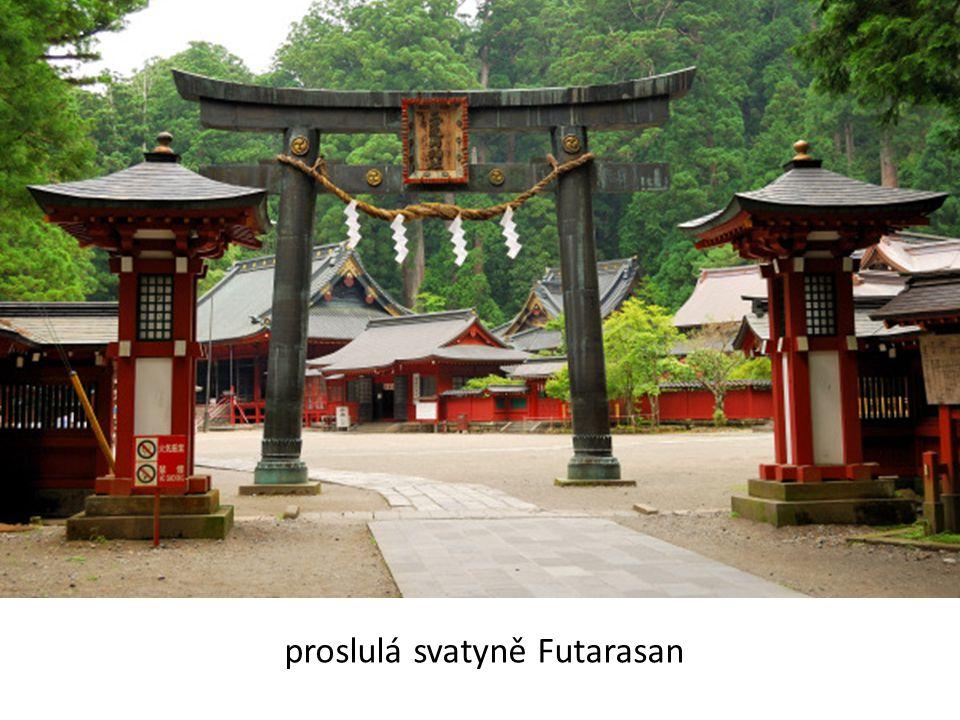 proslulá svatyně Futarasan