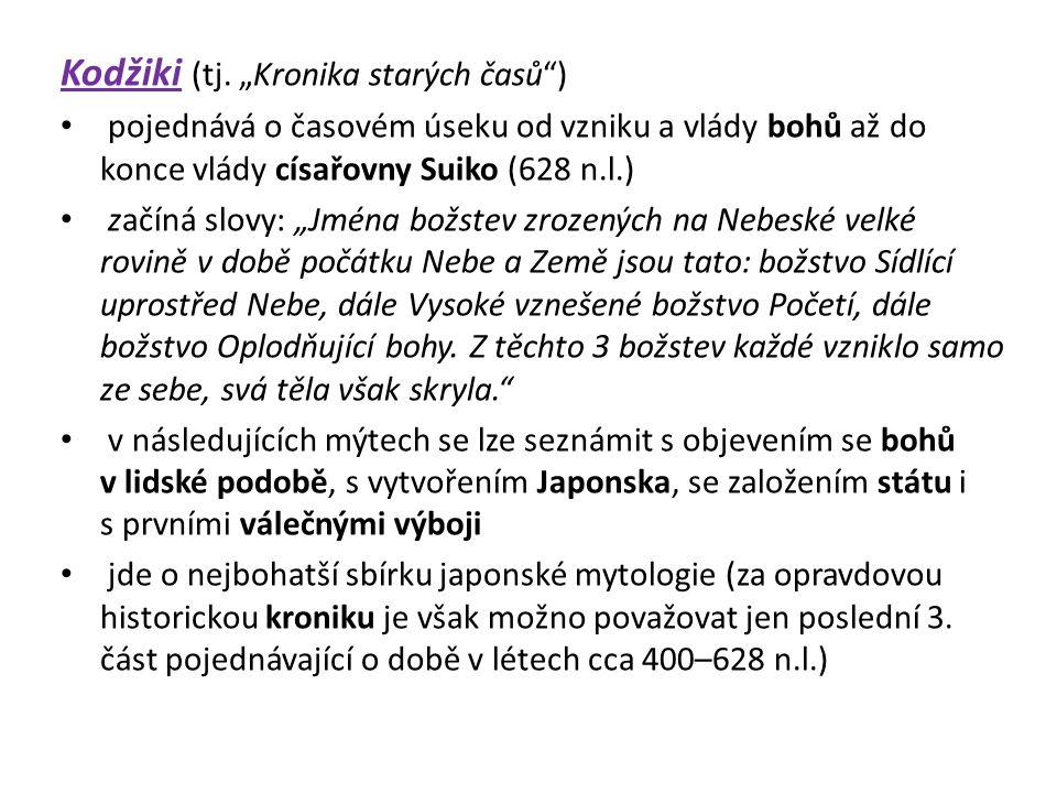 """Kodžiki (tj. """"Kronika starých časů )"""