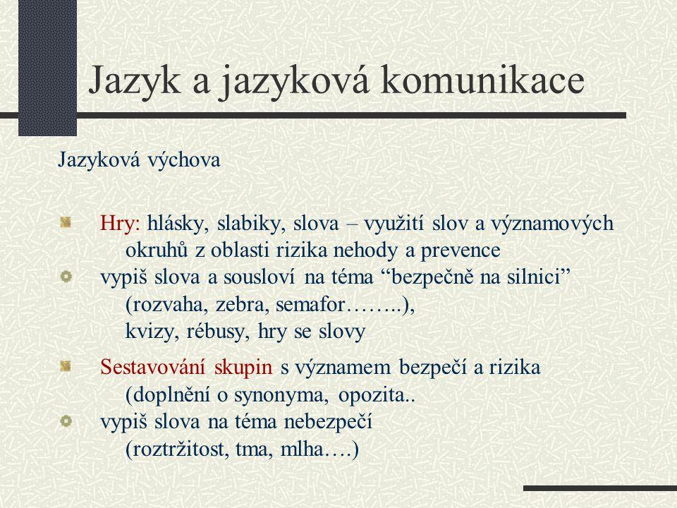 Jazyk a jazyková komunikace