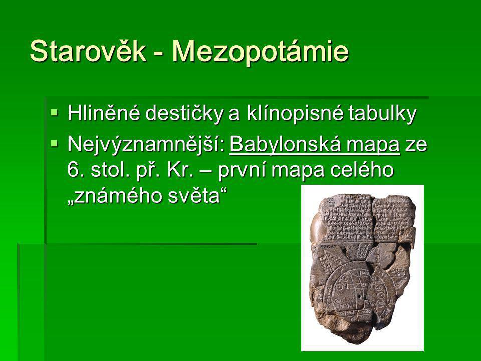 Starověk - Mezopotámie