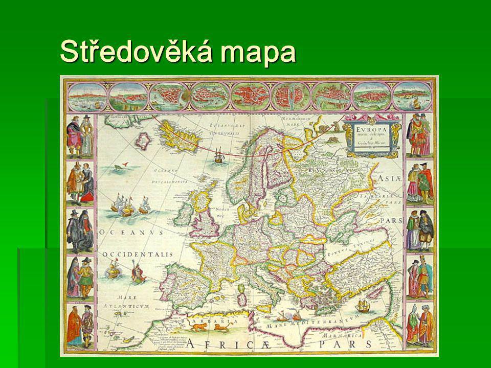 Středověká mapa