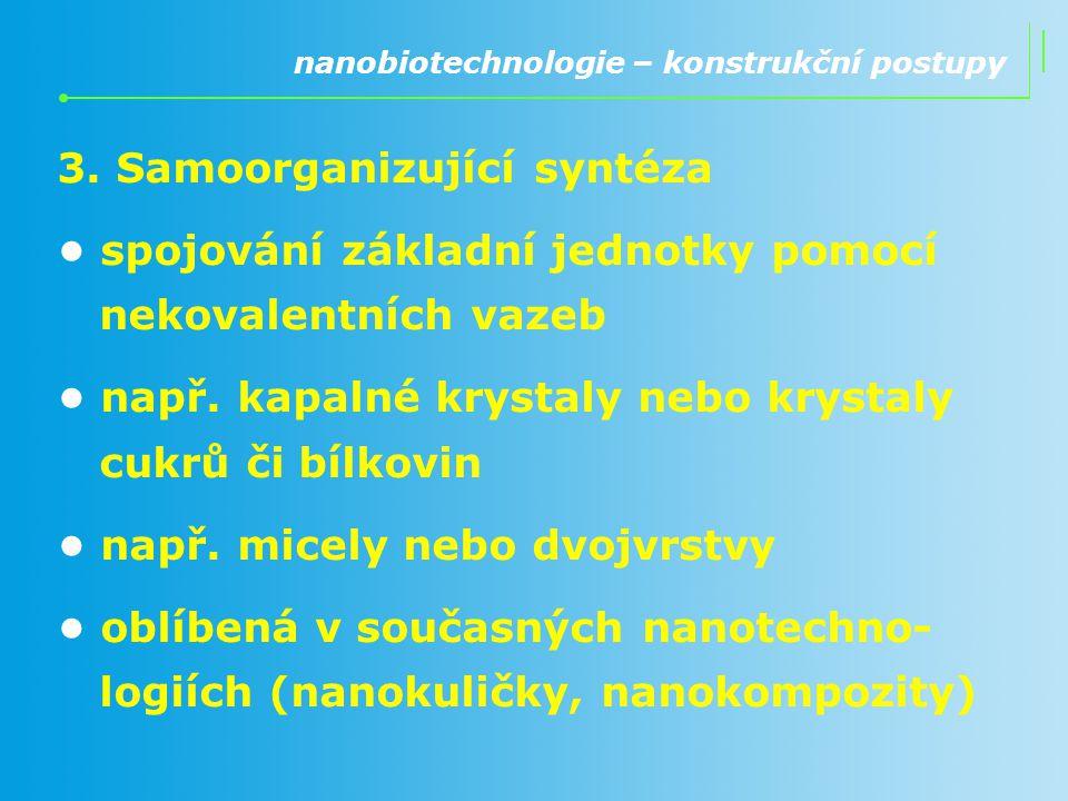3. Samoorganizující syntéza