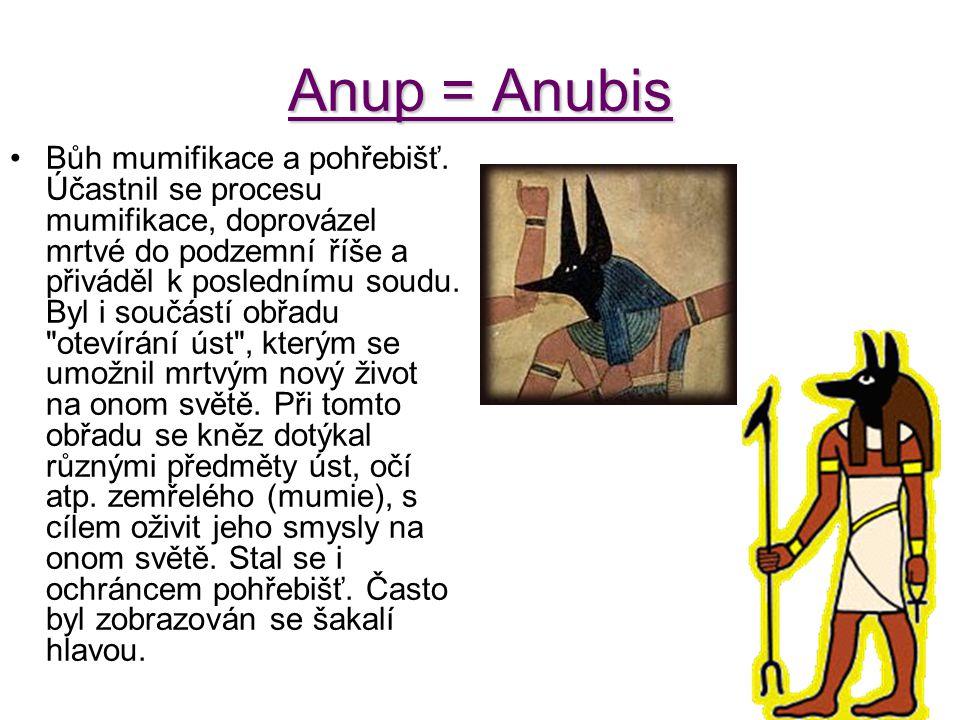 Anup = Anubis