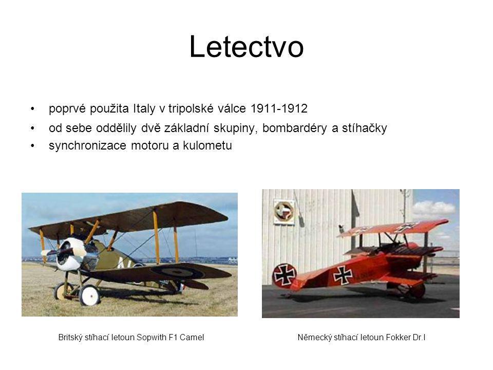 Letectvo poprvé použita Italy v tripolské válce 1911-1912