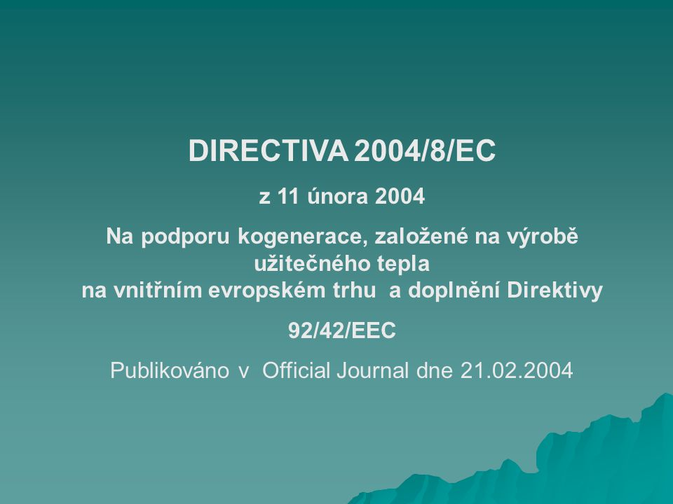 Publikováno v Official Journal dne 21.02.2004