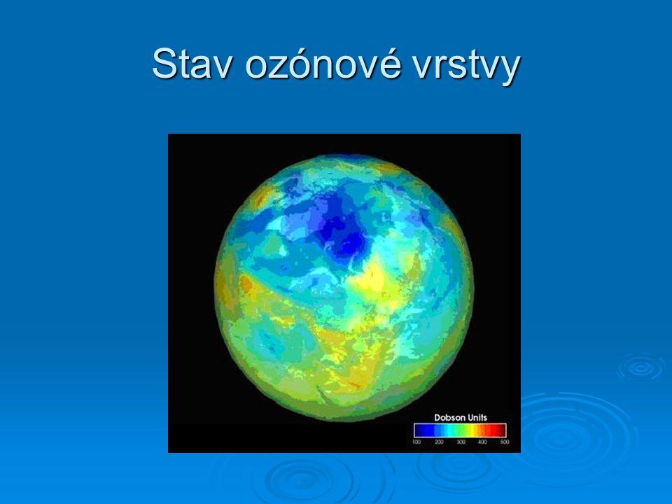 Stav ozónové vrstvy
