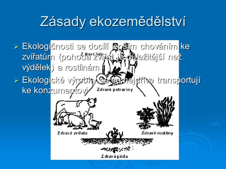 Zásady ekozemědělství