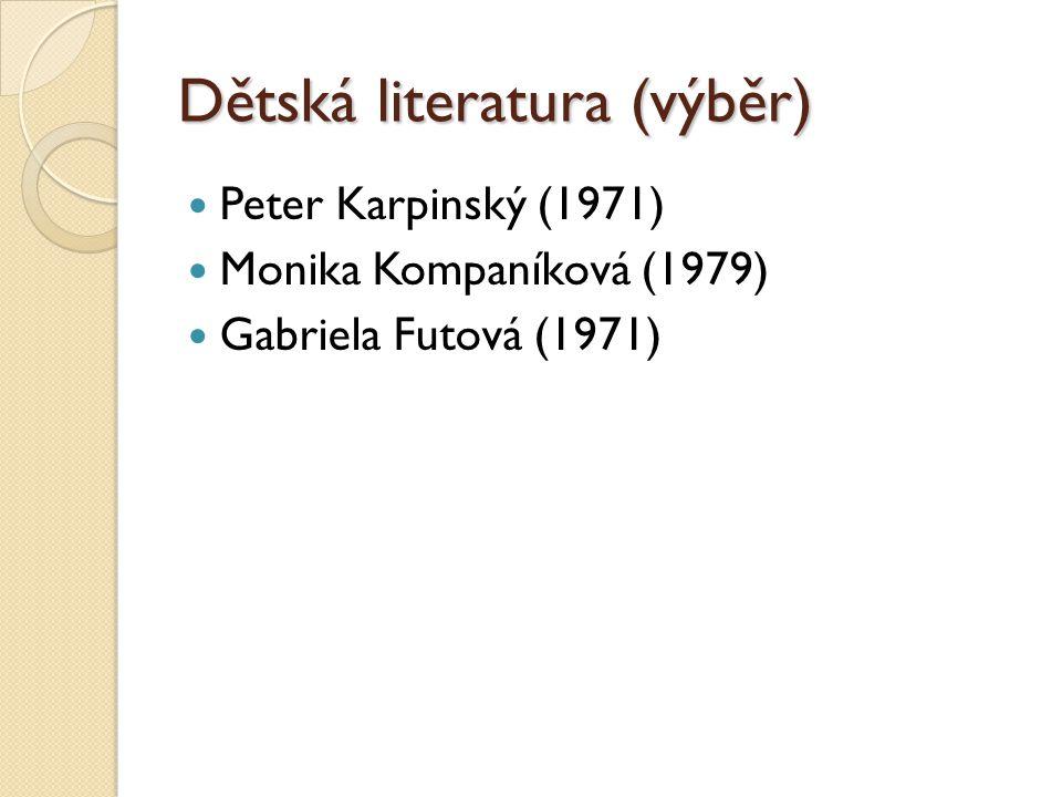 Dětská literatura (výběr)