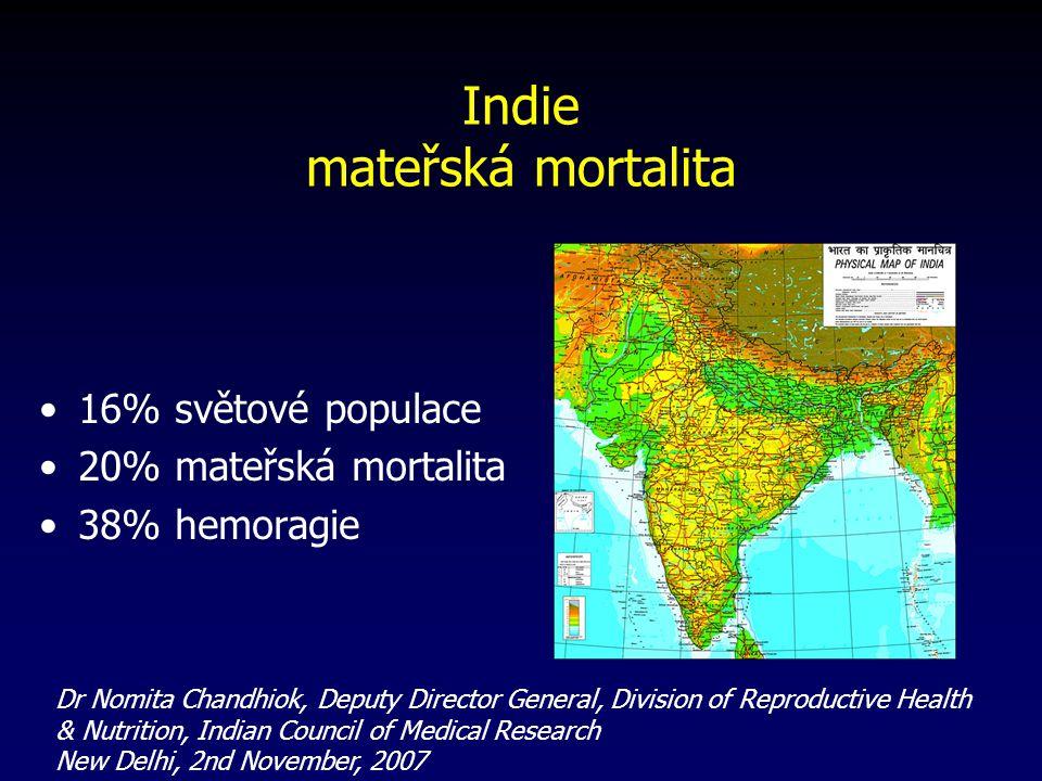 Indie mateřská mortalita