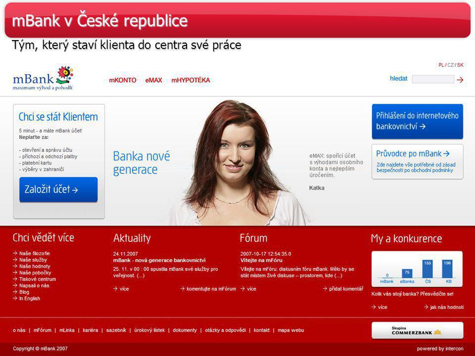 mBank v České republice